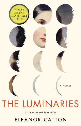 Eleanor Catton『The Luminaries: A Novel (Man Booker Prize)』の表紙イメージ