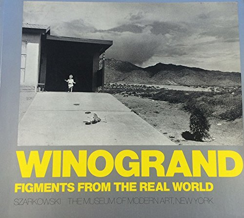 John Szarkowski『Winogrand: Figments from the Real World』の表紙イメージ