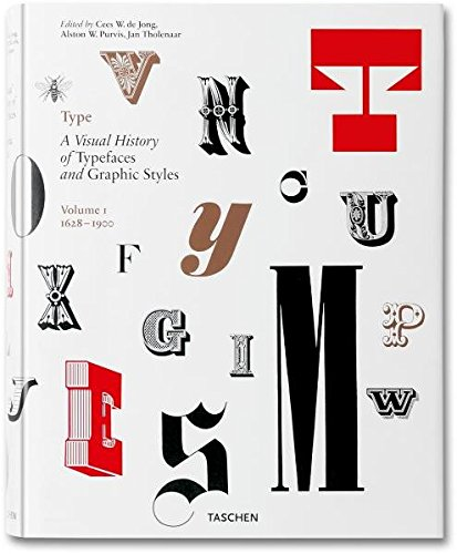 『Type: A Visual History of Typefaces and Graphic Styles 1628-1900』Jan Tholenaar